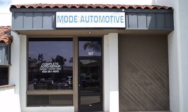 Miramar San Diego Auto Repair | Mode Automotive